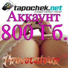 ACCOUNT TAPOCHEK.NET (TAPOCHEK.NET) 800 GB