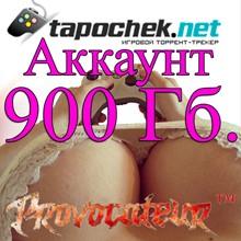 ACCOUNT TAPOCHEK.NET (TAPOCHEK.NET) 900 GB