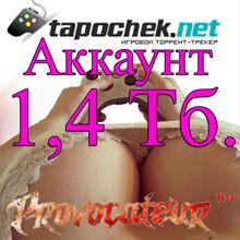 ACCOUNT TAPOCHEK.NET (TAPOCHEK.NET) 1.4 TB