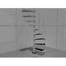 3D model of the stairs room