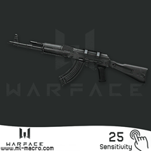 Macro on AK-103 for the game WarFace | 25 (ЛКМ)