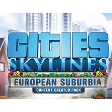 Cities: Skylines: DLC European Suburbia Content Creator