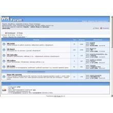 Forum script on php WR-Forum-v-2.2.2. on febr 2019 y.