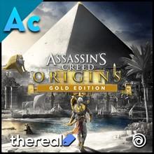 ☔ ASSASSINS CREED ORIGINS GOLD EDITION 💠 UPLAY 🪁