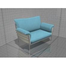3D models of furniture, sofa Samurai