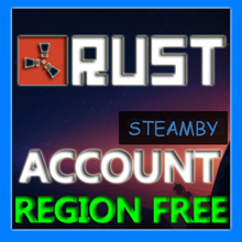 Rust accounts with guarantee 10years +EMAIL Region Free