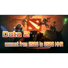 DOTA 2 | from 2500 to 3500 ranking