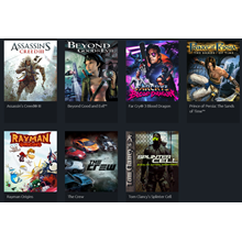 7 Epic games (Uplay account) Region free