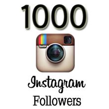 Instagram 1000 followers for 5$ SAlE!!