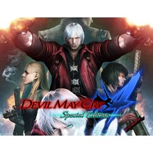 Devil May Cry 4  Special Edition (steam key) -- RU