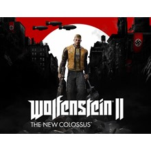 Wolfenstein II The New Colossus (steam key) -- RU