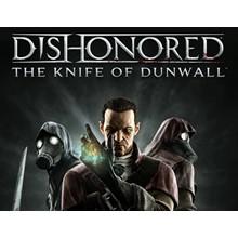 Dishonored The Knife of Dunwall DLC (Steam key) -- RU