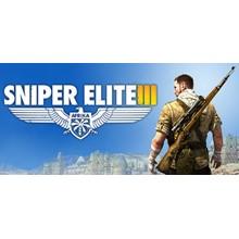 Sniper Elite 3 III (Steam Key / Region Free) + Bonus