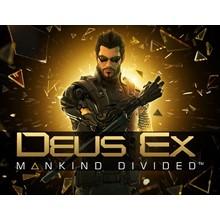Deus Ex Mankind Divided Retail (steam key) -- RU