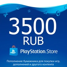 ★ 3500 rub   Payment card PlayStation Network RUS PSN