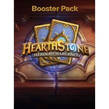 5x Hearthstone Booster Pack - Expert card set