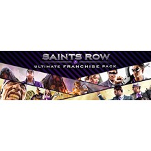 Saints Row Ultimate Franchise (Steam Gift Region Free)