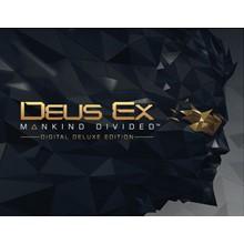 Deus Ex Mankind Divided Deluxe (Steam key) -- RU
