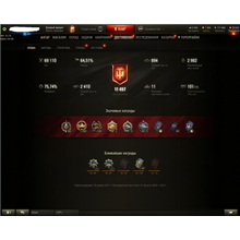 WOT Silver farm ( (Booster 65% winrate at 65000 fights)