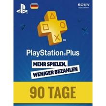 PlayStation Network Card (PSN) 90 Days (German)