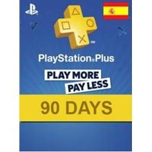 PlayStation Network Card (PSN) 90 Days (Spain)