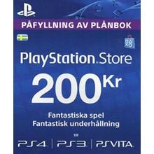 Playstation Network Card (PSN) 200 SEK (Sweden)