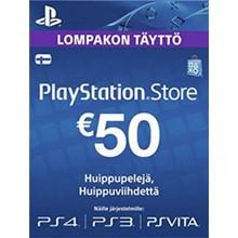 Playstation Network Card (PSN) 50 EUR (Finland)