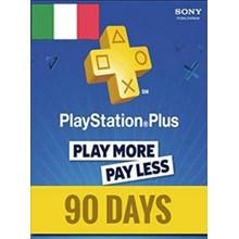 PlayStation Network Card (PSN) 90 Days (Italian)