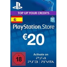 Playstation Network Card (PSN) 20 EUR (Spain)