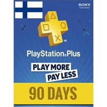 PlayStation Network Card (PSN) 90 Days (Finland)