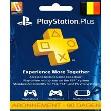 Playstation Network Card (PSN) 90 day (Belgium)