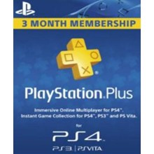 Playstation Network Card (PSN) 90 days (Denmark)