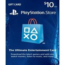 PlayStation Network Card (PSN) 10 $ (USA)