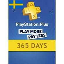 PlayStation Network Card (PSN) 365 Days (Sweden)