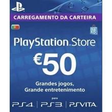 Playstation Network Card (PSN) 50 EUR (Portugal)