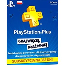 PlayStation Network Card 365 Days (Poland)