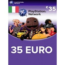 Playstation Network Card (PSN) 35 EUR (Italian)