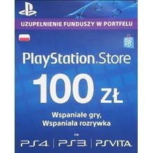 Playstation Network Card (PSN) 100 PLN
