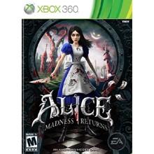 Xbox 360 | Alice: Madness Returns | TRANSFER