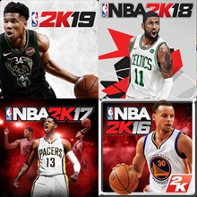 NBA 2K16, NBA 2K17, NBA 2K18, NBA 2K19 on ios, AppStore