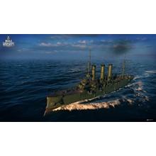 World of Warships - DIana + slot (Invite-code)