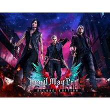 Devil May Cry 5 Deluxe Edition (Steam KEY) + GIFT
