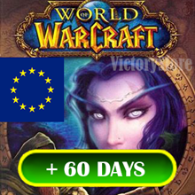World of Warcraft EU/RU +60 days ⚡ Time Card ✔️ | key