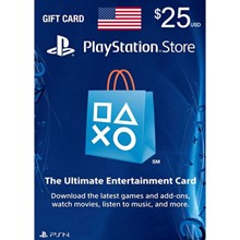 Playstation Network PSN $ 25(USA) + Discounts