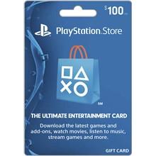 Playstation Network PSN $ 100 (USA) + Discounts