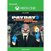 CODE🔑KEY XBOX SERIES   PAYDAY 2: CRIMEWAVE EDITION
