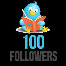 ✅👍 Twitter Readers 100 Followers ⭐
