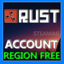 Rust new accounts with guarantee (Region Free)
