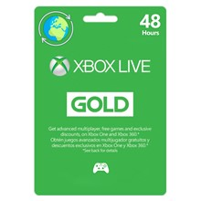XBOX Live Gold 48 Hours TRIAL (Global) 🎮