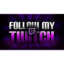 👤👍🏻 TWITCH | 100 Followers to Your Twitch channel ✅